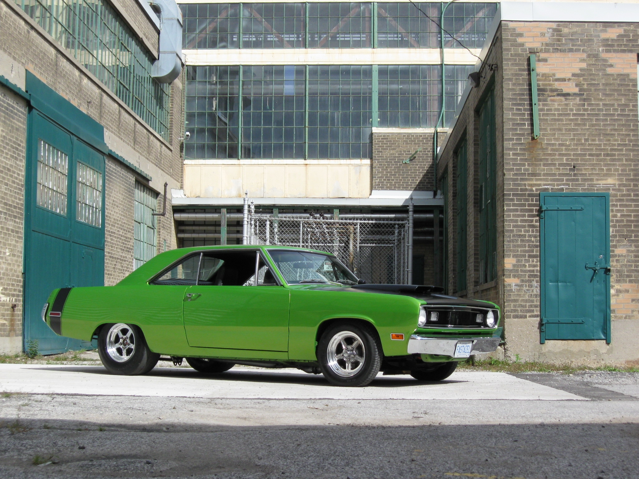 Mshred 1971 Plymouth Scamp Specs Photos Modification