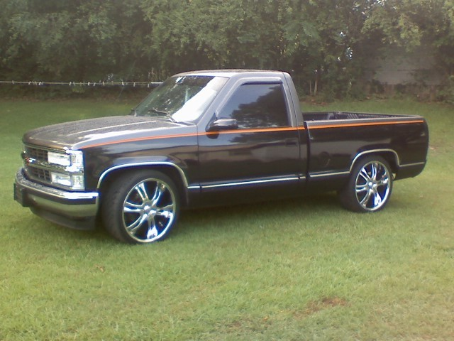 Z71 Chevy Truck chevyridinduces 1992 Chevrolet Silverado 1500 Regular Cab ...