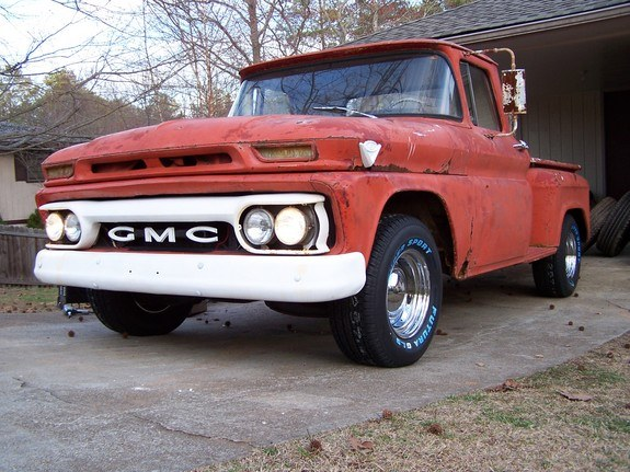 bigblockv6guy 1963 gmc 1000 series specs  photos