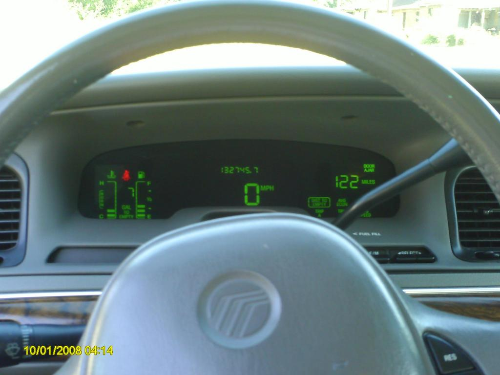 i like that ls ultimate cluster body and interior crownvic netMercury Grand Marquis Digital Dash #9