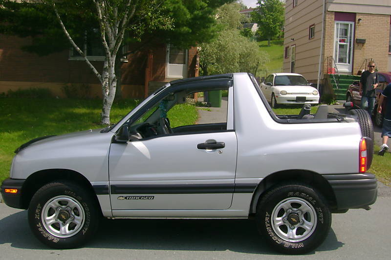 chevy rocks 1999 chevrolet tracker specs photos. Black Bedroom Furniture Sets. Home Design Ideas