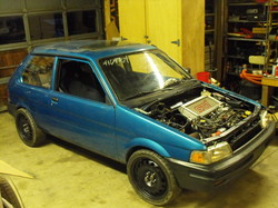 THEONE-ORIGINALS 1993 Subaru Justy