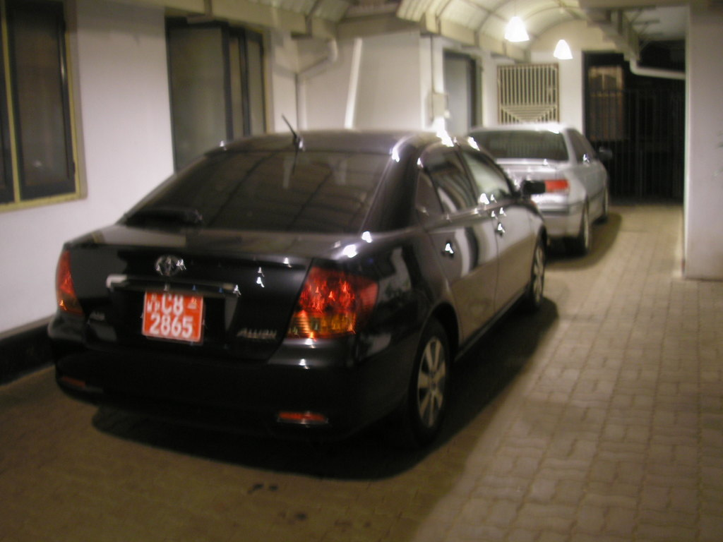 kbandarage's 2002 Toyota Allion