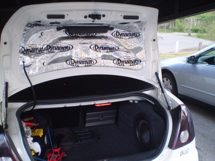 Lets See Your Trunks With Subwoofers Pontiac G6 Forum