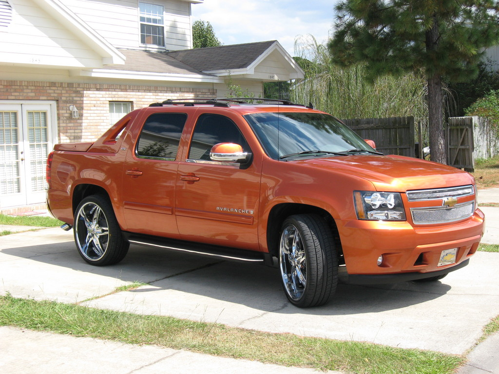 ds town11 2007 chevrolet avalanche specs photos. Black Bedroom Furniture Sets. Home Design Ideas
