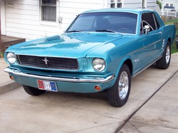 BIGHEWs 1966 Ford Mustang