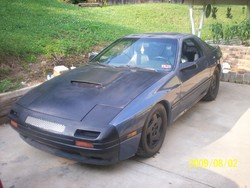 bu863s 1986 Mazda RX-7