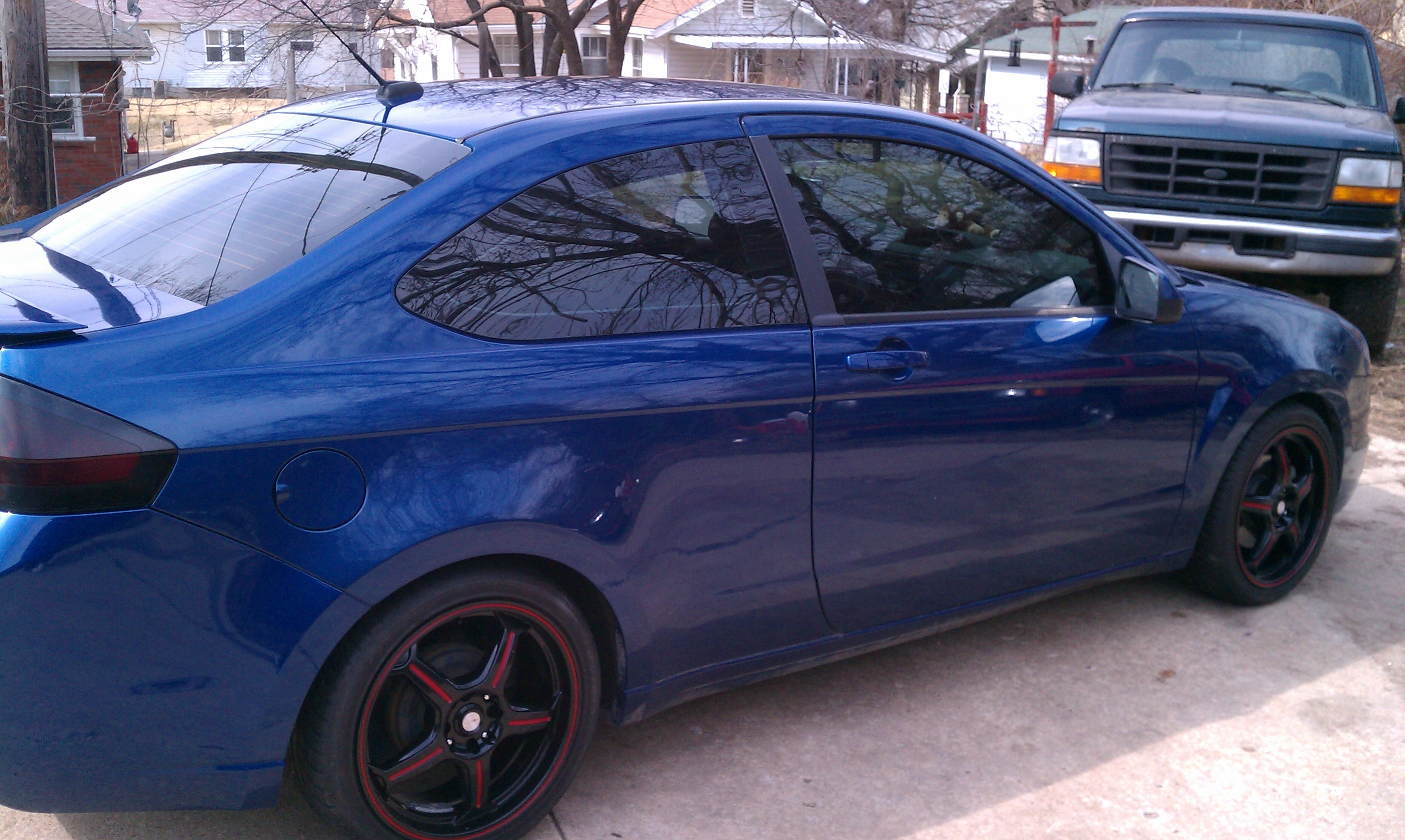 blazer8302 39 s 2009 ford focus se coupe 2d in kansas city ks. Black Bedroom Furniture Sets. Home Design Ideas