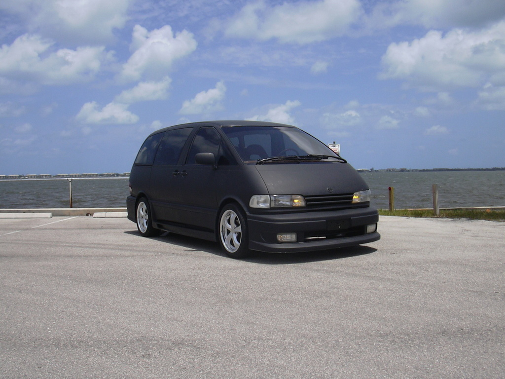 mightybombjac 1991 toyota previa specs photos modification info at cardomain. Black Bedroom Furniture Sets. Home Design Ideas
