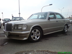 AhmedAMGs 1985 Mercedes-Benz S-Class