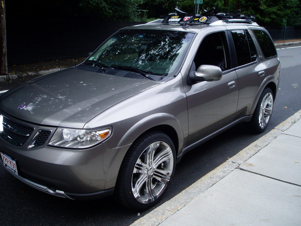 Saabwonkka 2006 Saab 9 7x Specs Photos Modification Info