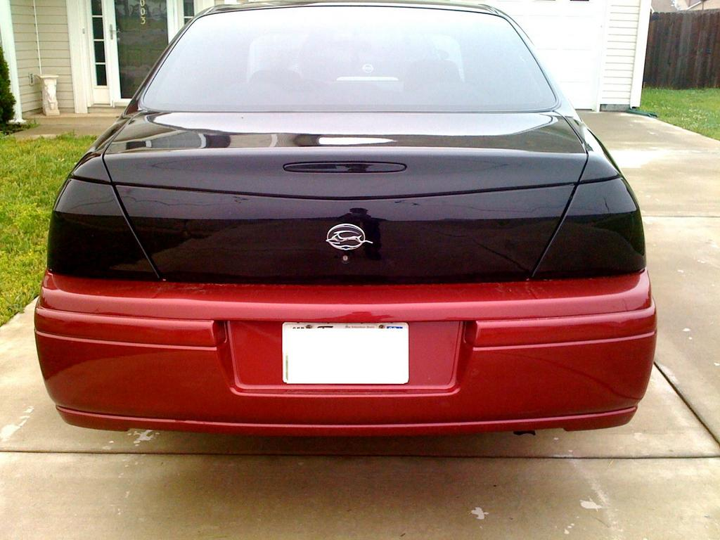 Tail light BLACKD OUT
