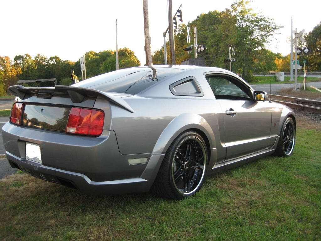 06roushprocharge 2006 ford mustang specs photos modification info at cardomain. Black Bedroom Furniture Sets. Home Design Ideas