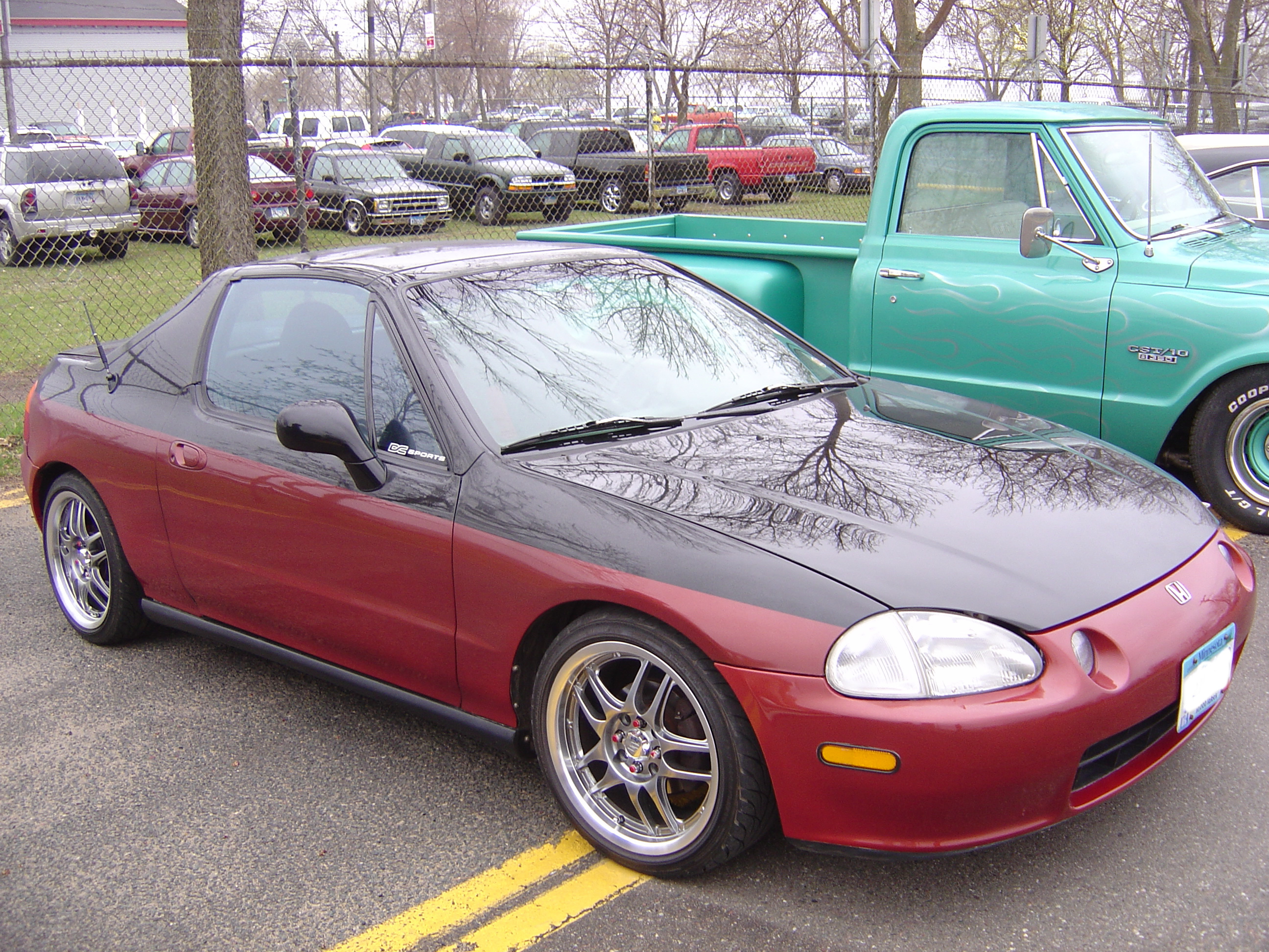 themach 5 39 s 1995 honda del sol si coupe 2d in mankato mn. Black Bedroom Furniture Sets. Home Design Ideas