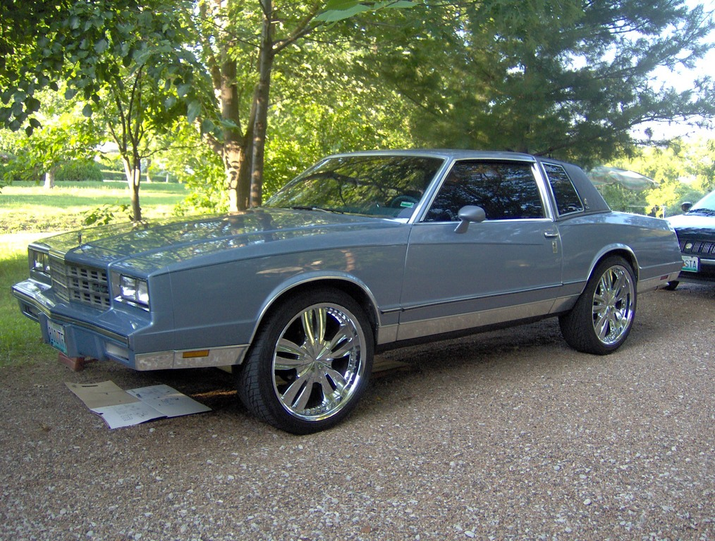 midwest killa 1984 chevrolet monte carlo specs photos modification info at cardomain. Black Bedroom Furniture Sets. Home Design Ideas