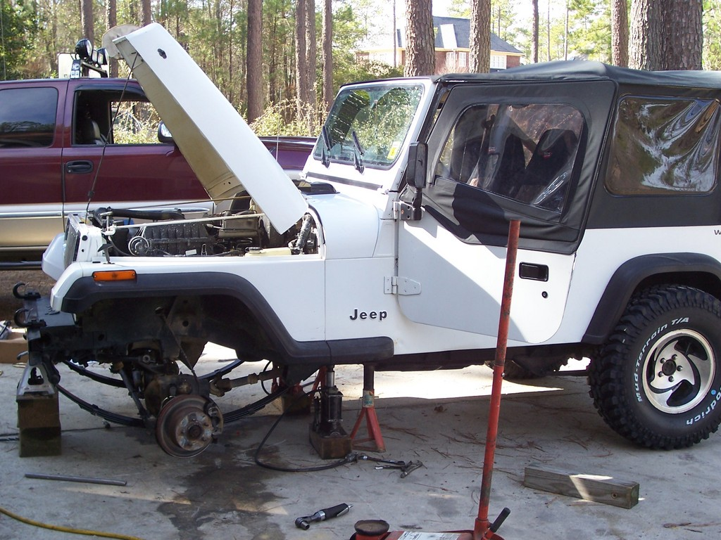 Another lilsewell07 1991 Jeep Wrangler post... - 12127418