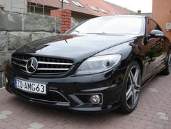 mc555s 2007 Mercedes-Benz CL-Class