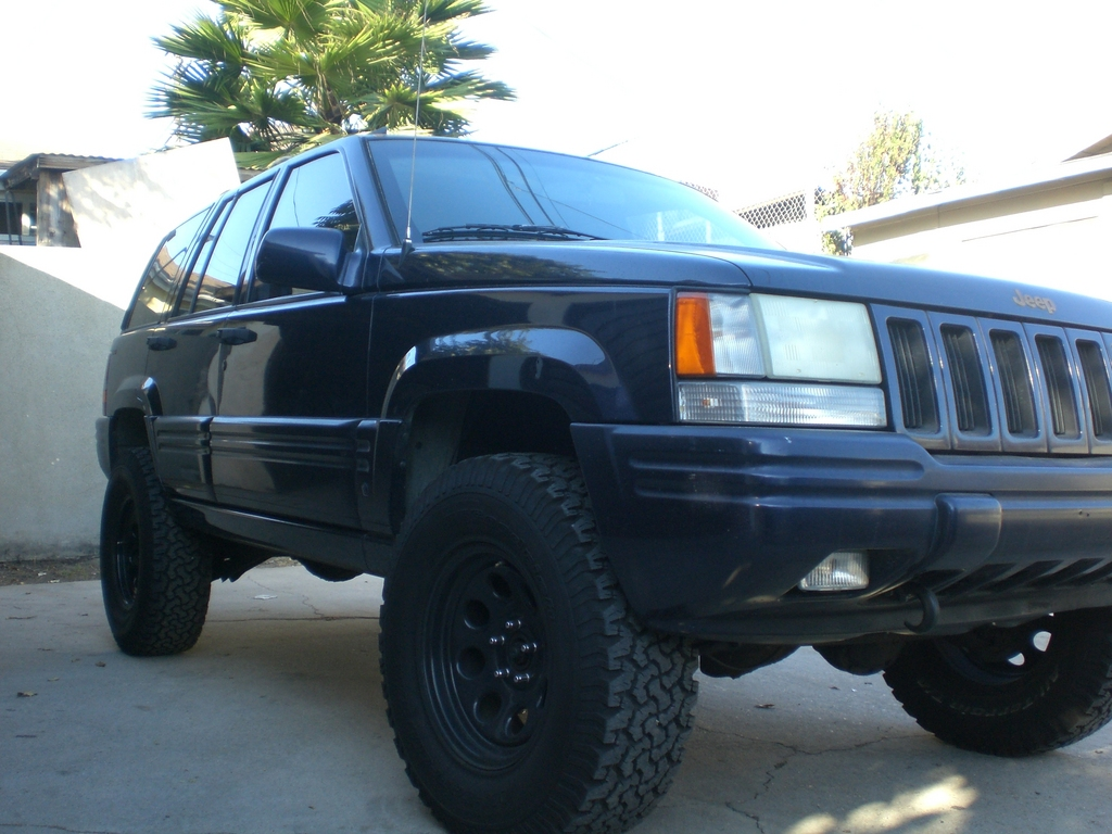 maddogg76 1997 jeep grand cherokeelimited sport utility 4d specs photos modification info at. Black Bedroom Furniture Sets. Home Design Ideas