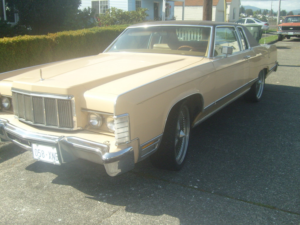 Another Snowblime 1976 Continental Mark II post... - 12134849