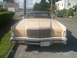 Snowblime 1976 Continental Mark II