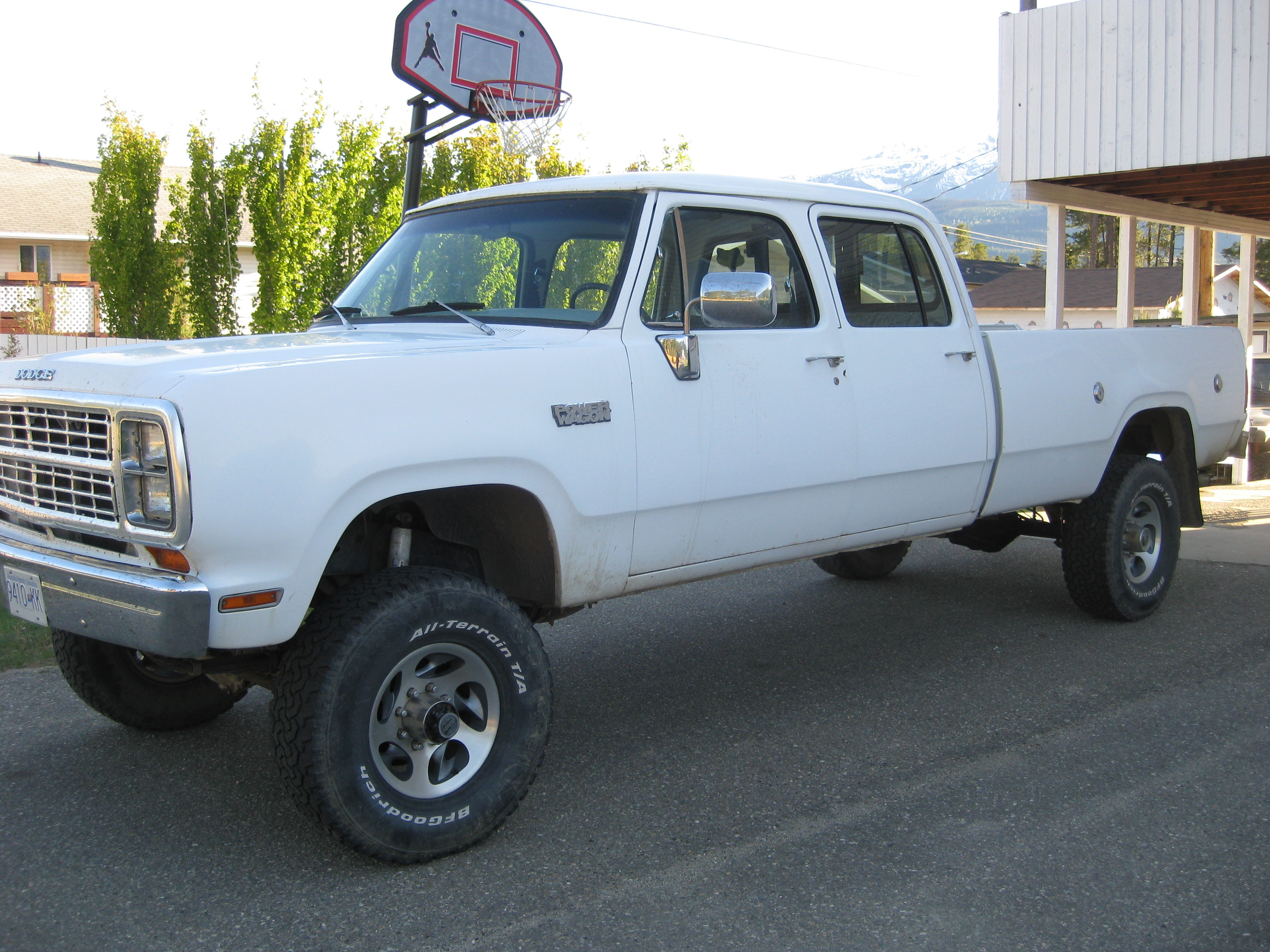 Original on 1979 Dodge Power Wagon
