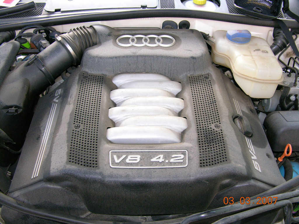 Another bumer750il 2001 Audi V8 post... - 12138947
