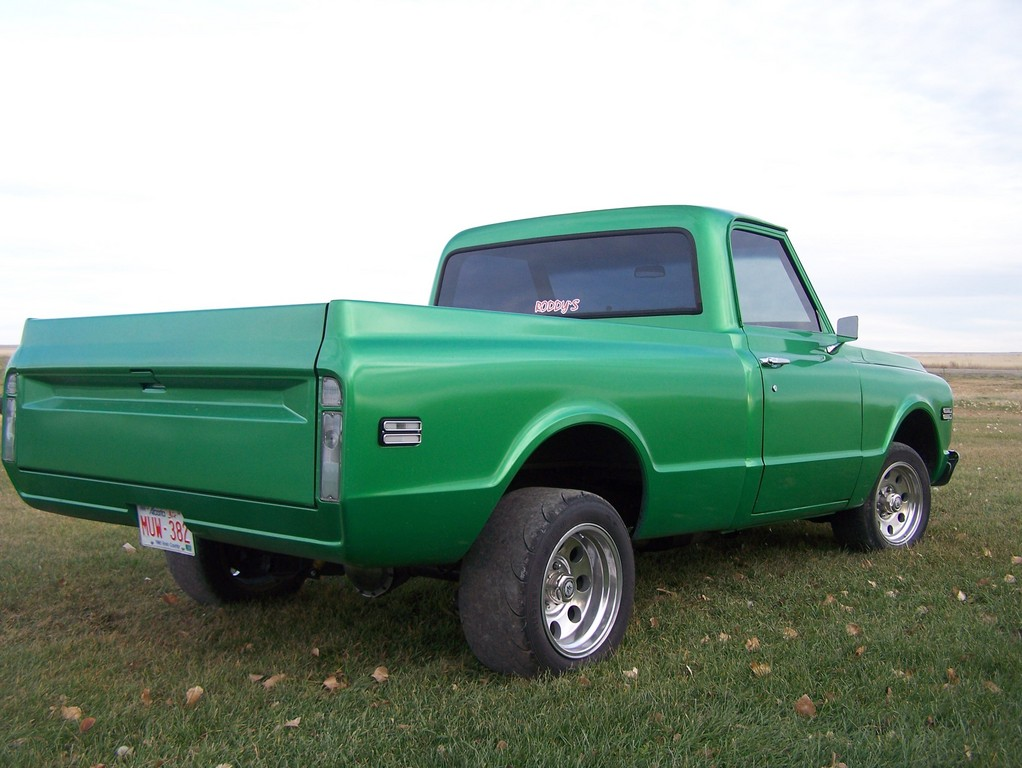 1972 C10 With 90s Stepside.html   Autos Post
