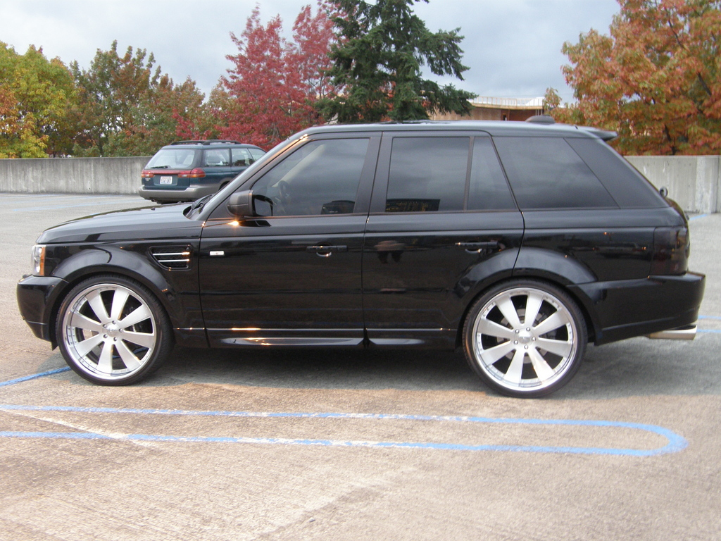 oface 2006 land rover range rover sport specs photos modification info at cardomain. Black Bedroom Furniture Sets. Home Design Ideas