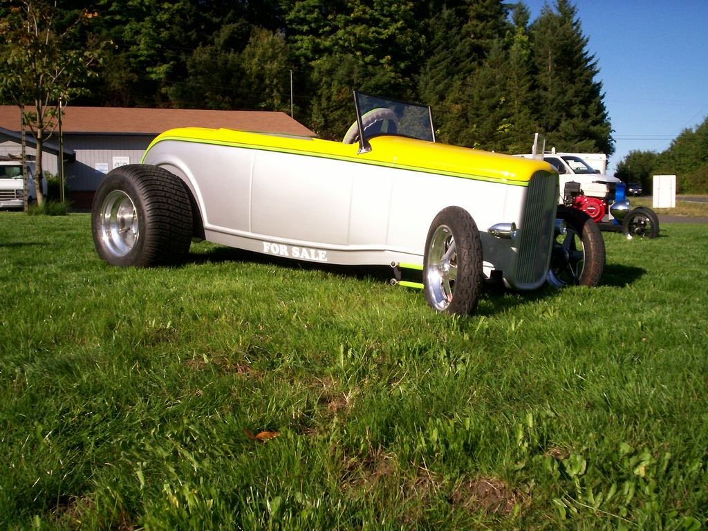 draggim's 1932 Ford Roadster