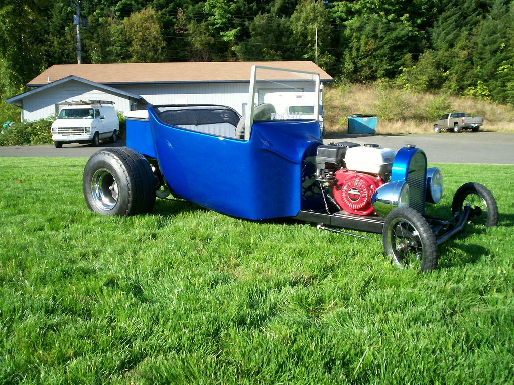 draggim 1923 Ford T-bucket