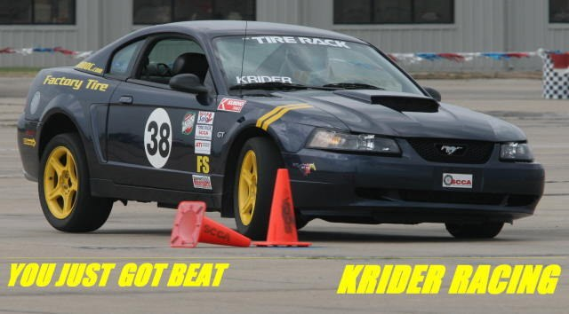 KriderRacing38 2001 Ford Mustang
