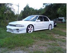 droped91accordexs 1991 Honda Accord