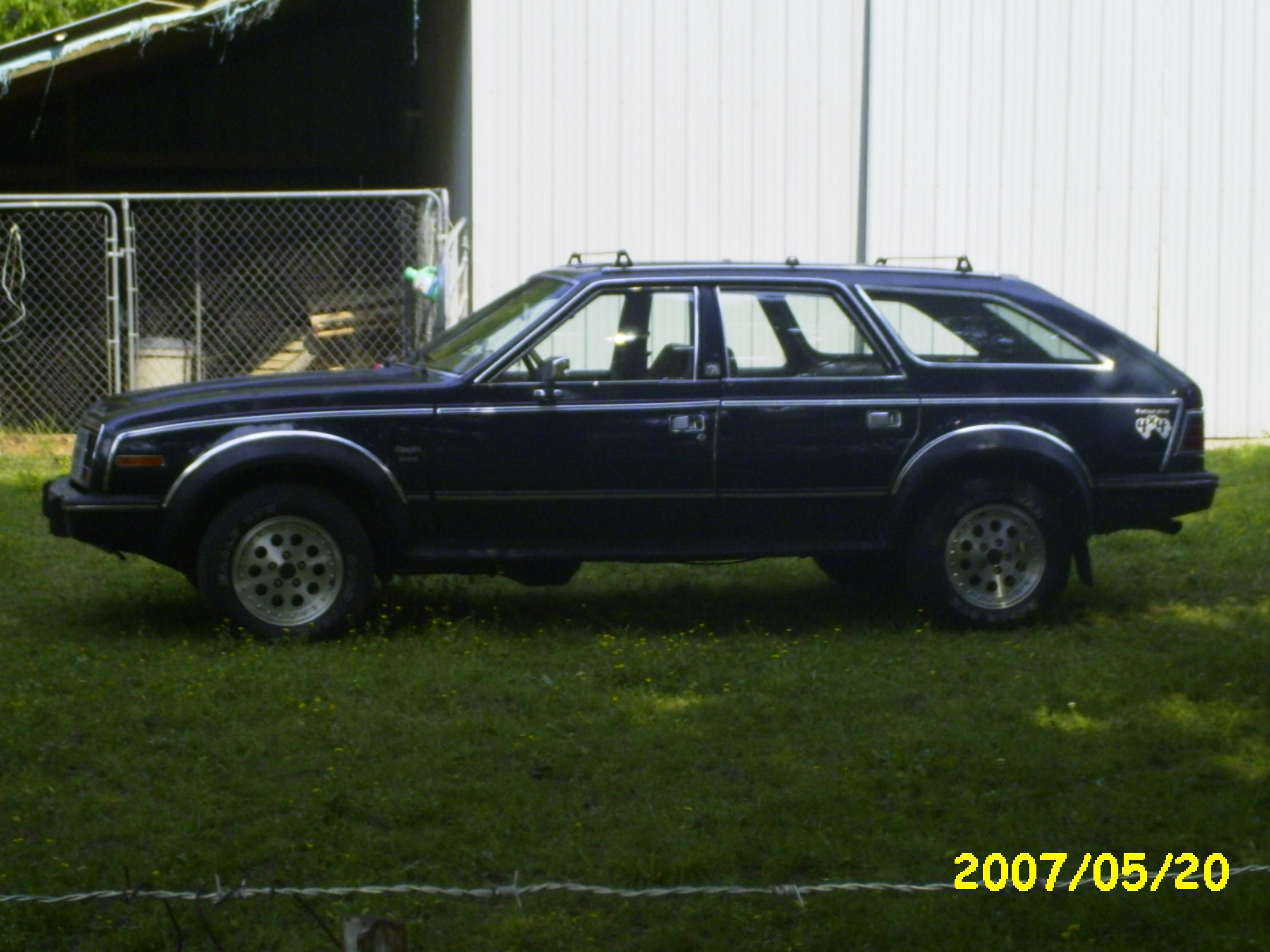 Killrail 1987 AMC Eagle 12155602