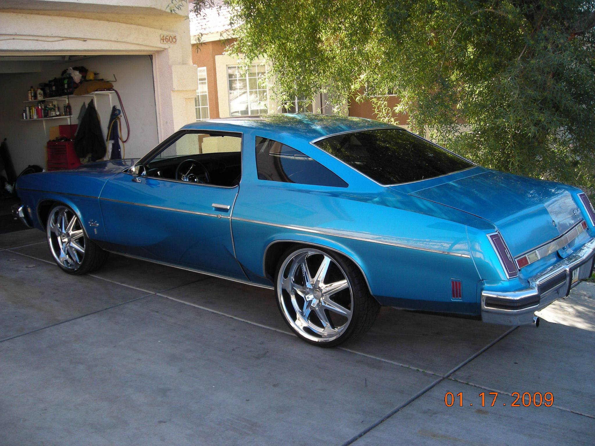 icyblu 1974 oldsmobile cutlass salon specs photos