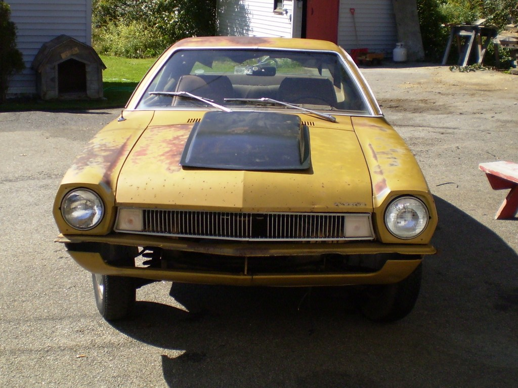 1972 FORD PINTO 2DR 1-OWNER 56K MILES - NO RESERVE ...