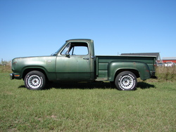 72Stepside 1972 Dodge D150 Club Cab