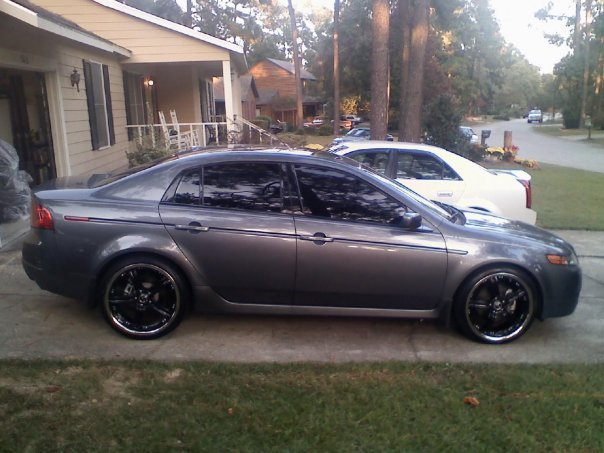 20 inch rims on TL? - AcuraZine - Acura Enthusiast Community
