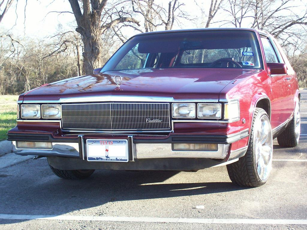 85LACFLEETWOOD 1985 Cadillac Fleetwood Specs Photos Modification