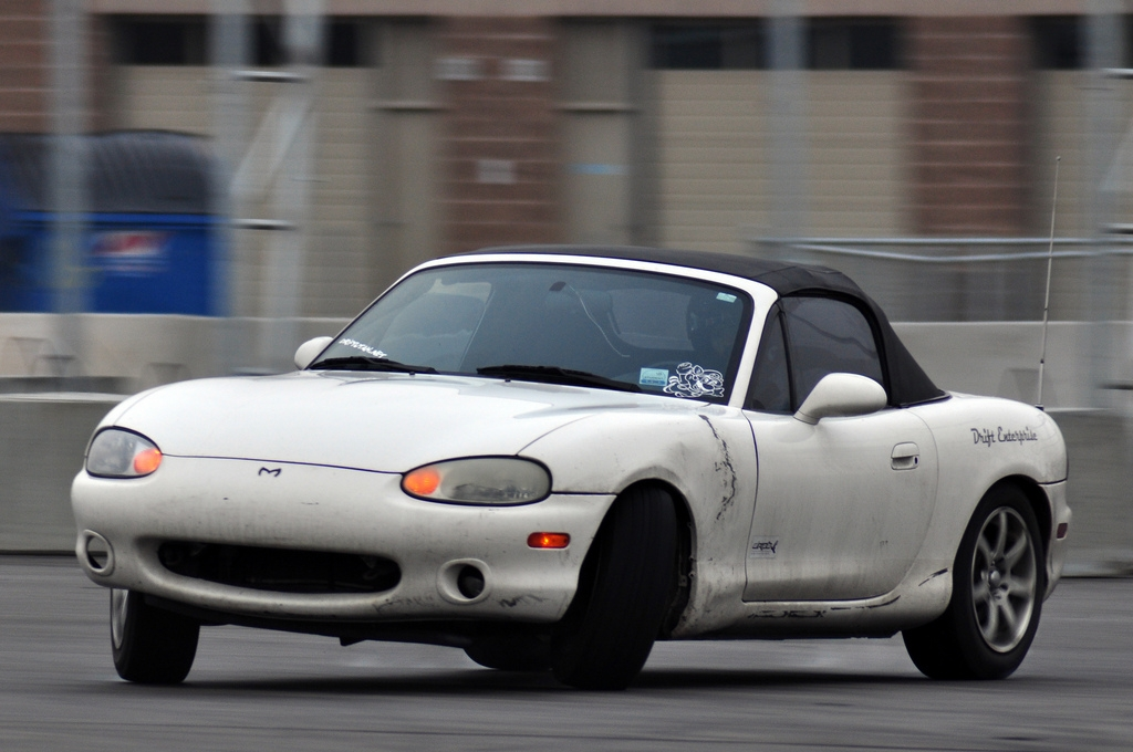 mazda miata drift. It proved that I can drift