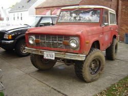 potterfx4s 1970 Ford Bronco
