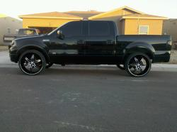 04_Ford_24s 2004 Ford F150 Regular Cab