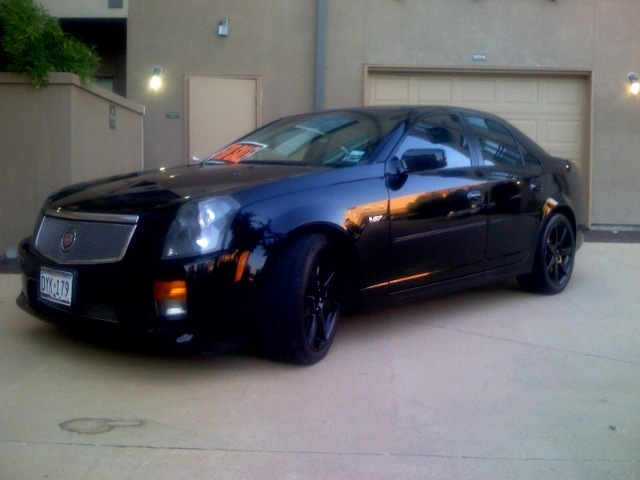 spike618 2004 cadillac cts specs photos modification. Black Bedroom Furniture Sets. Home Design Ideas