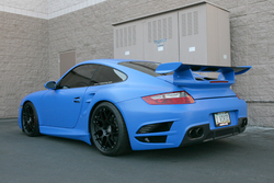 Vivid Racing Porsche 997 Turbo