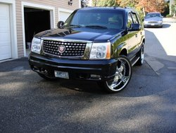BlackCaddyDrivrs 2002 Cadillac Escalade