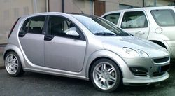 p924turbo 2005 smart forfour