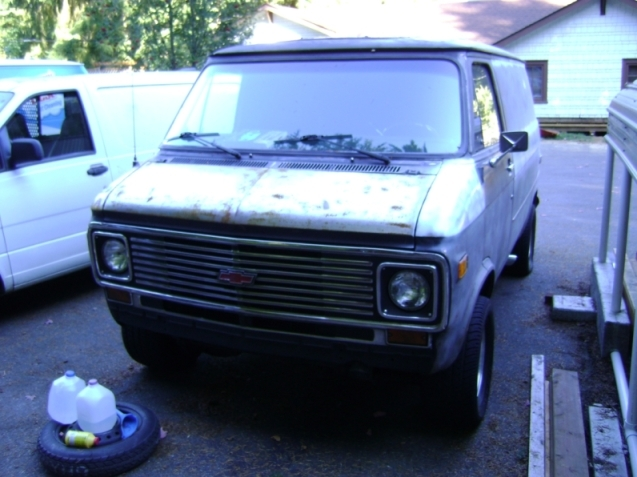 TeenApe 1977 Chevrolet G-Series 1500