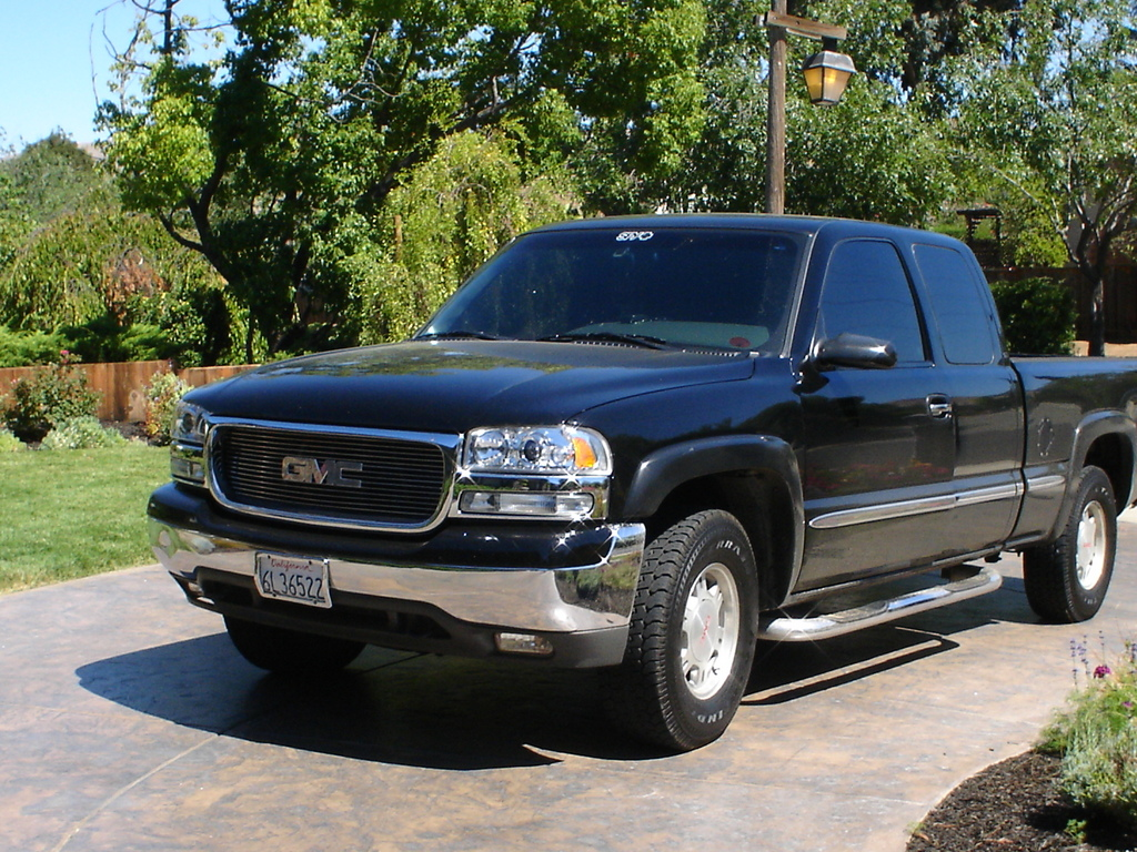 blak on blak 2001 gmc sierra 1500 regular cab specs photos modification info at cardomain. Black Bedroom Furniture Sets. Home Design Ideas