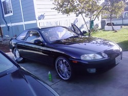 blackscv8s 1995 Lexus SC