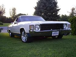 CHELKAMINOs 1972 Chevrolet El Camino
