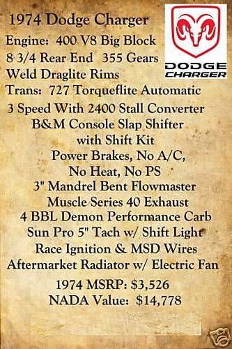Another dragginprelude 1974 Dodge Charger post... - 12208810
